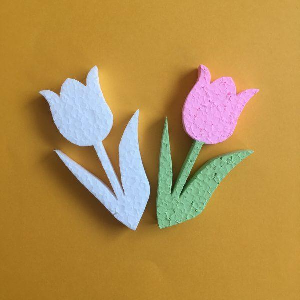 Hungarocell figurák - tulipánok (4db)