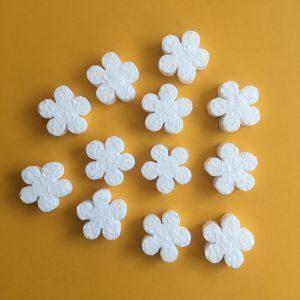 Hungarocell figurák - mini virágok (12db)