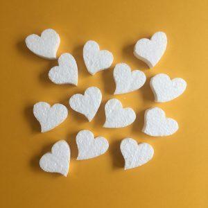 Hungarocell figurák - szívek (12db)