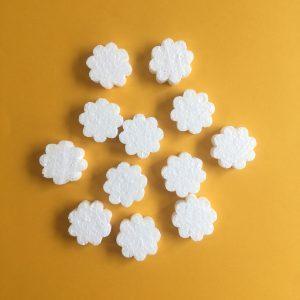 Hungarocell figurák - virág (12db)