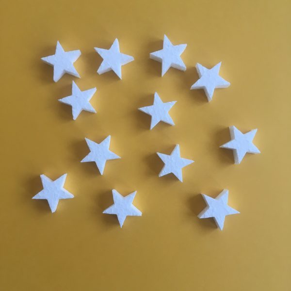 Hungarocell figurák - csillagok (12db)