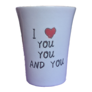 Kerámia pohár (1,15dl)