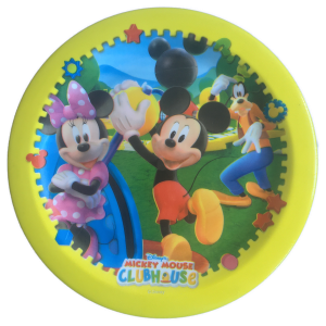 Mickey lapos tányér (nagy)