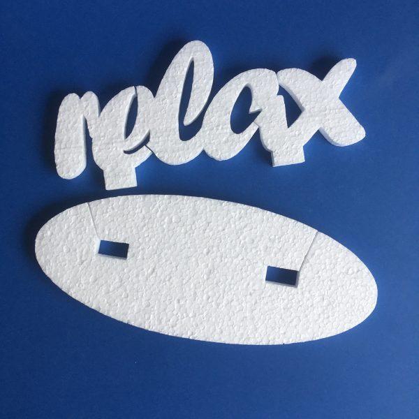 Hungarocell relax felirat talppal