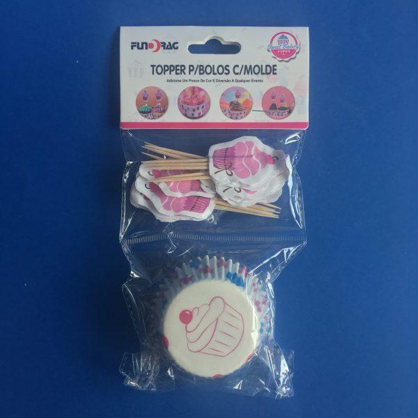 Muffin papír és süti beszuró szett