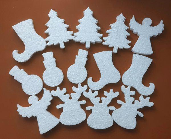 Hungarocell figurák - Vegyes karácsonyi figurák (14db)