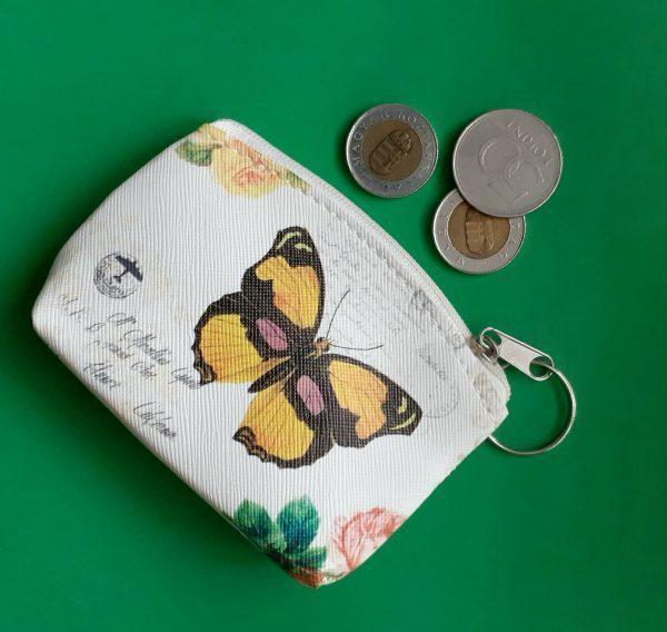 Lepkés szütyő (pénztárca)